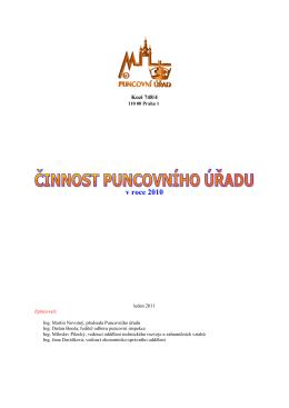 v roce 2010 - Puncovní úřad