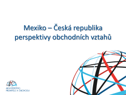 Mgr. Matyáš PELANT, Ministerstvo průmyslu a obchodu ČR