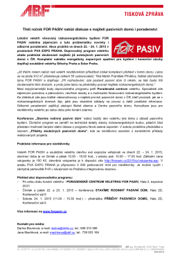 V Praze 27 - for pasiv