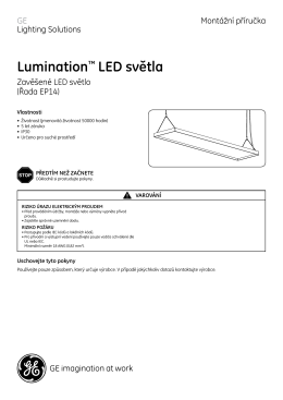Lumination™ LED světla