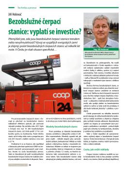 Bezobslužné čerpací stanice: vyplatí se investice?