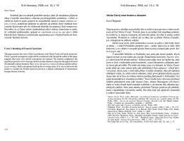 Pavel Štěpánek: Vácav Černý mezi textem a obrazem