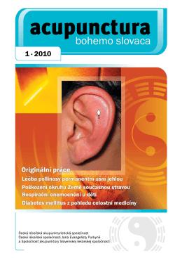 2010 - 1 - Česká lékařská akupunkturistická společnost