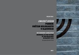 2012 Zmizelý svícen, pomník obětem holokaustu, žula