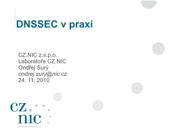 DNSSEC v praxi