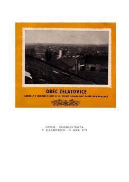 Želátovice 1970