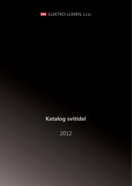 Katalog svítidel 2012 - vaše světelná řešení