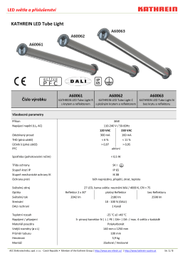 KATHREIN LED Tube Light - aec