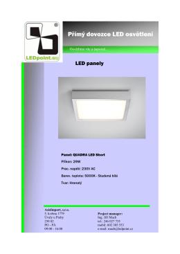 Přímý dovozce LED osvětlení