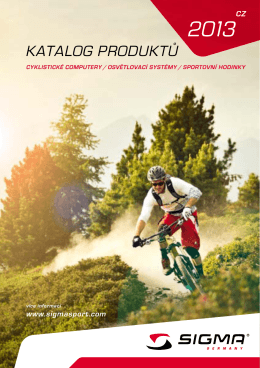 Katalog Sigma 2013