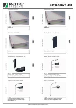 025 - světla, led diody, halogeny/2014