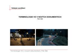 Koncept návrhu osvětlení výstavního prostoru Petr Žák, ETNA s.r.o.