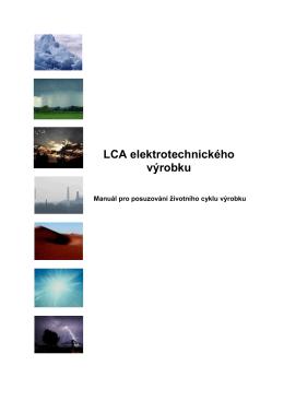 LCA elektrotechnického výrobku