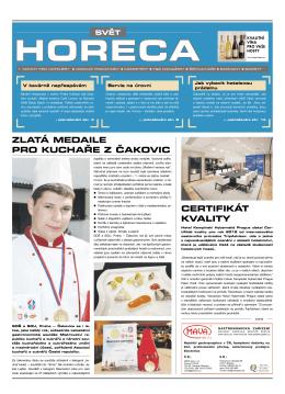 horeca - Svět gastronomie & hotelnictví