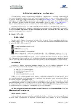 Infolist 380 DKV Praha – prosinec 2011