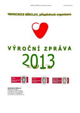 2013 - VÝROČNÍ ZPRÁVA