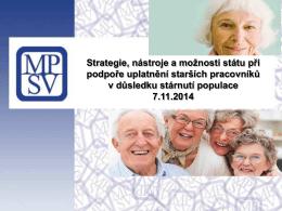 MPSV ČR: Radka Soukupová