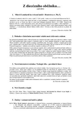 září 2011 - farnost Milonice
