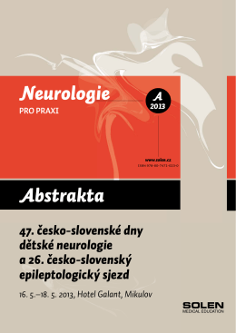 Abstrakta Neurologie