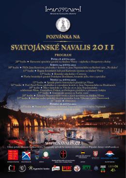 Program Svatojánských Navalis 2011