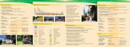 Turistické informace a servisy Turistické informace a servisy