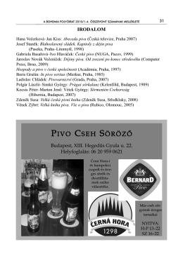 PIVO CSEH SÖRÖZŐ