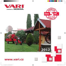 Malotraktory VARI IV GLOBAL