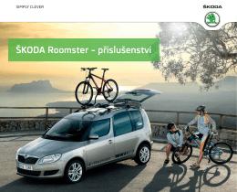 ŠKODA Roomster – příslušenství