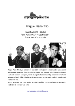 The Prague Piano Trio