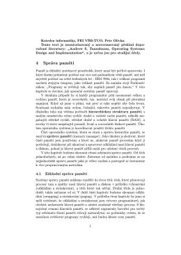 Výukový materiál - 4. Paměť (PDF)