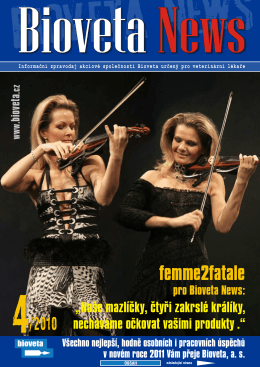 Bioveta News 04_2010