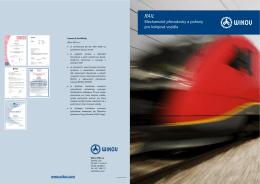 Mechanické převodovky a pohony pro kolejová vozidla