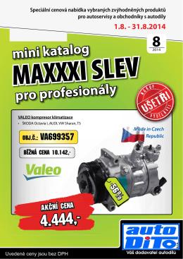 katalog maxislev 08/2014