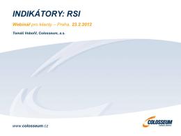 RSI - eMAX.cz