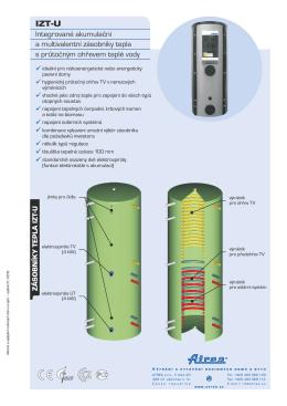 Integrované akumulační a multivalentní zásobníky - Prima