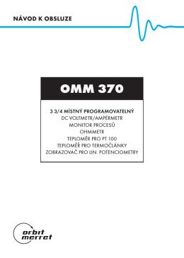 OMM 370 - Orbit Merret