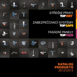 katalog produktů 2012/2013 střešní prvky zabezpečovací
