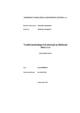 Využití marketingových nástrojů na Biofarmě Dora s.r.o.pdf