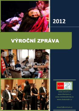 výroční zpráva za rok 2012 v PDF