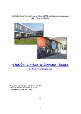 Výroční zpráva ZŠ - vzor