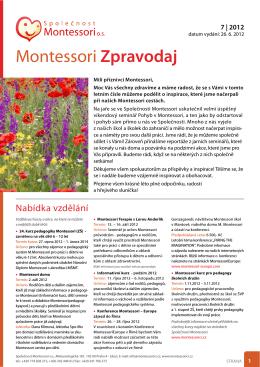 Montessori Zpravodaj