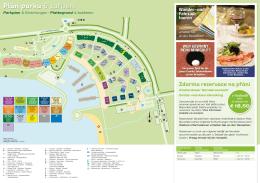 Plán parku & zařízení