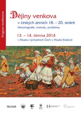 ějiny venkova - Muzeum východních Čech v Hradci Králové