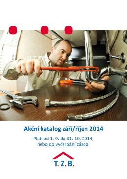 Akční katalog září/říjen 2014