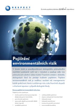 Pojištění environmentálních rizik
