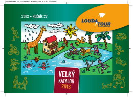Katalog 2013 v PDF verzi