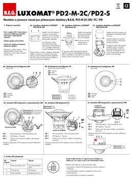 LUXOMAT® PD2-M-2C/PD2-S