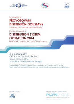 provozování distribuční soustavy distribution system operation 2014