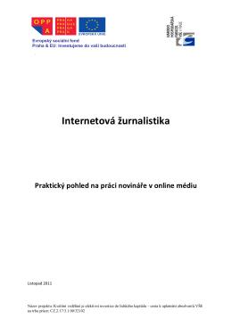 Internetová žurnalistika