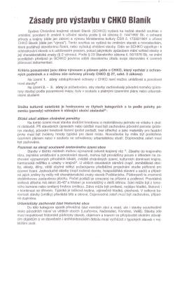 Zásady pro výstavbu v CHKO Hlanil(
